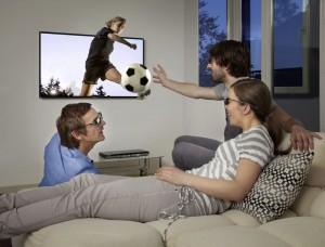 Samsung 3D-TV Livestyle