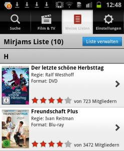 Lovefilm Android App