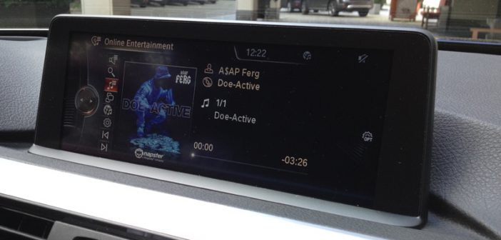 Napster_BMW Connected Drive