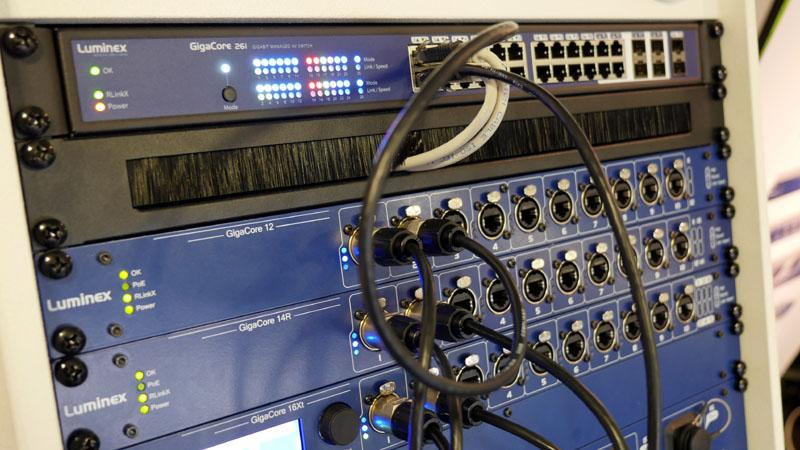 Luminex Dante Router