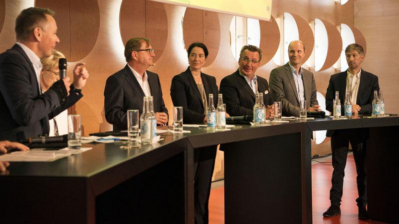 Gipfeltalk, Dr. Wolf Osthaus, Susanne Aigner-Drews, Dr. Hans-Ter Siebenhaar, Simin Lange, Klaus Schunk, Stephan Zech, Guido Bolten