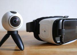 Mit Samsung Gear 360 und Gear VR in virtuelle Welten