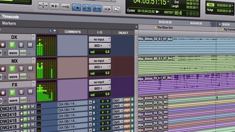 Avid Pro Tools Dolby Atmos