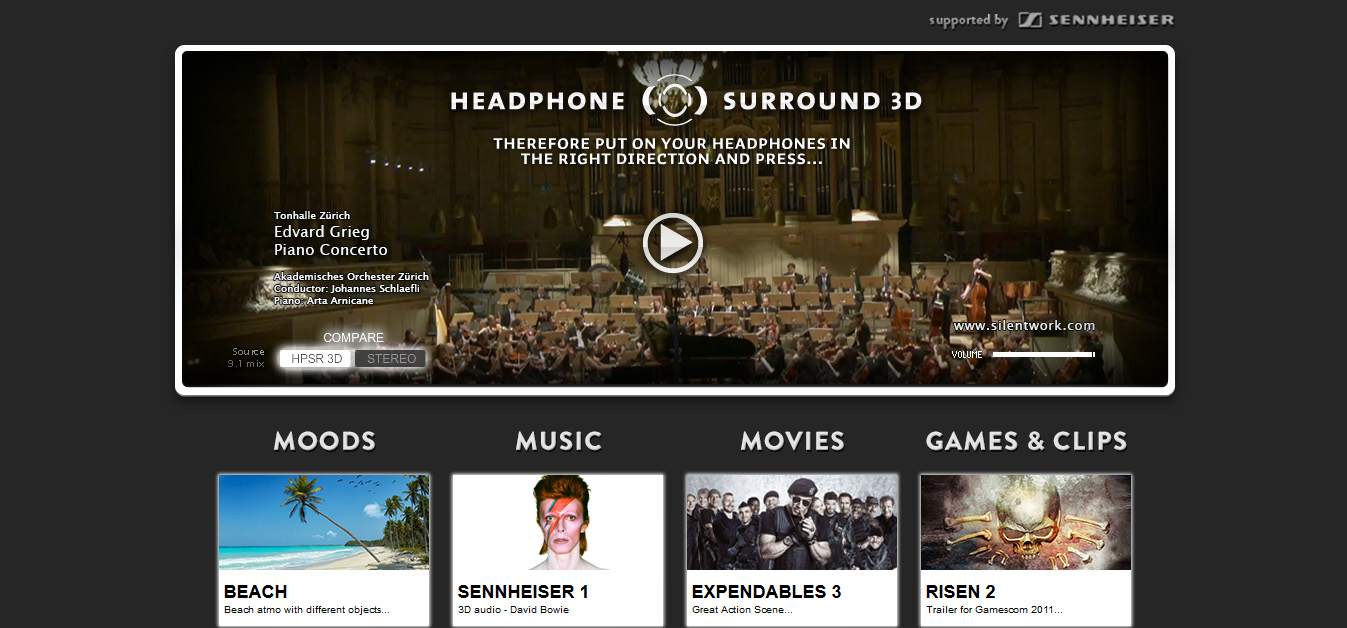 Headhpone 3D Surround