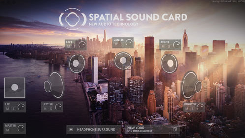 Spatial Sound Card
