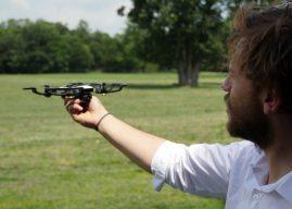 DJI Spark: Bilderstrecke von Drohnen-Vorstellung in Frankfurt